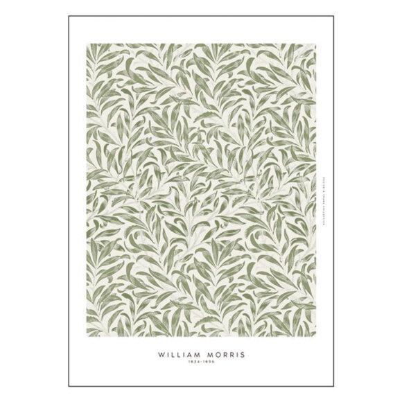 POSTER AND FRAME - LEAVES-1 50X70