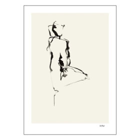 POSTER AND FRAME - WOMAN IX 50X70