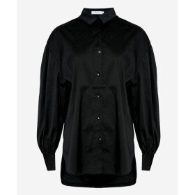 NOELLA - BLACK TATE SHIRT COTTON