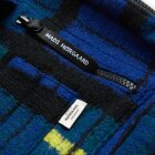 MADS NØRGAARD - BLUE CHECK BEL COUT CAPPA WOOL