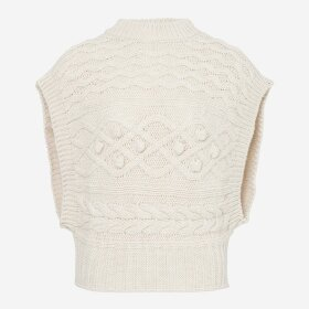 NOELLA - OFFWHITE CHICARGO VEST POLY