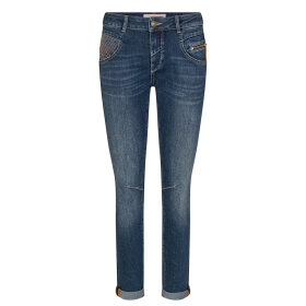 MOS MOSH - BLUE REG. NELLY RELOVED JEANS