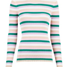 NEO NOIR - GREY MEL NELLE MINI STRIPE