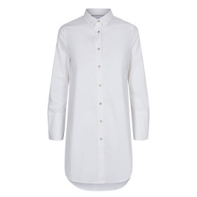 CO COUTURE - WHITE NOLEEN MIDI SHIRT