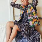 LOLLYS LAUNDRY - FLOWER PRINT NEE DRESS