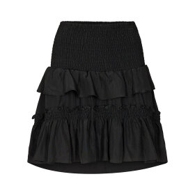 CO COUTURE - BLACK KEEVA SMOCK SKIRT