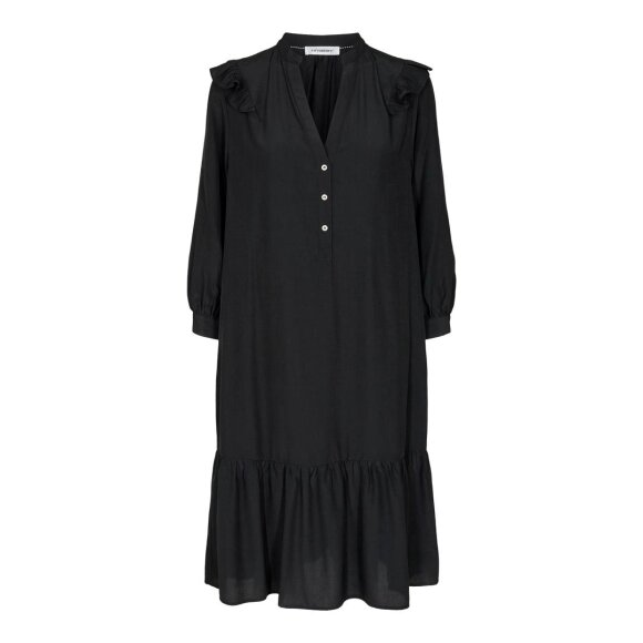 CO COUTURE - BLACK SOMEDAY DRESS