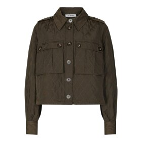 CO COUTURE - ARMY IBBIE QUILT JACKET