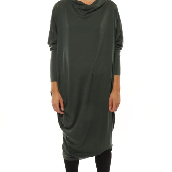 LISELOTTE HORNSTRUP - GREY FAVE DRESS