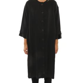 LISELOTTE HORNSTRUP - BUTTON DRESS BLACK