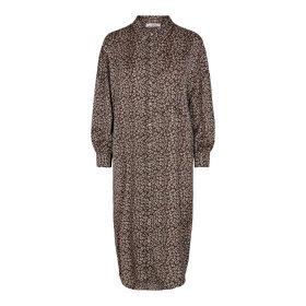 CO COUTURE - BLACK FOX SHIRT DRESS