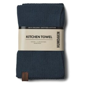 HUMDAKIN - SEA BLUE KNITTED KITCHEN TOWEL