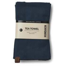 HUMDAKIN - SEA BLUE ORG. TEA TOWEL 2 STK