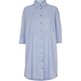 BASIC APPAREL - NAVY NORA SHIRT HARRIET