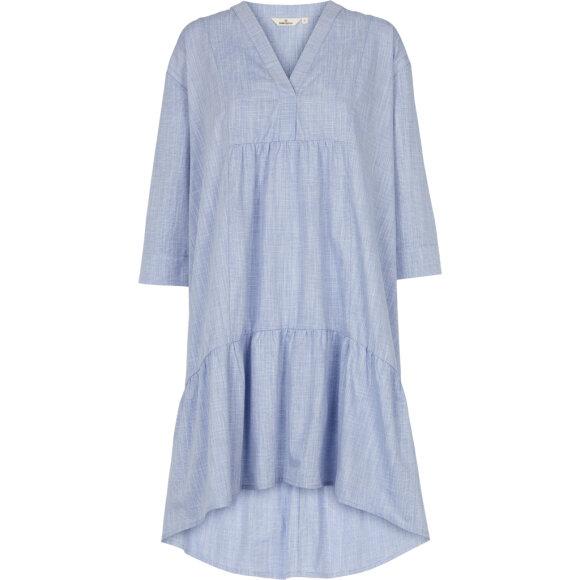 BASIC APPAREL - NAVY ABBY DRESS HARRIET