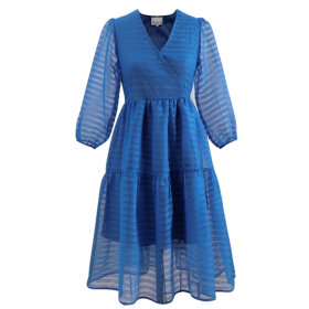 NOELLA - STRONG BLUE VAJA DRESS