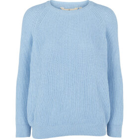 BASIC APPAREL - CEL. BLUE NURIA SWEATER