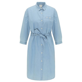 LEE - LONG DENIM DRESS PISCINE