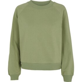 BASIC APPAREL - OIL GREEN MAJE SWEATSHIRT