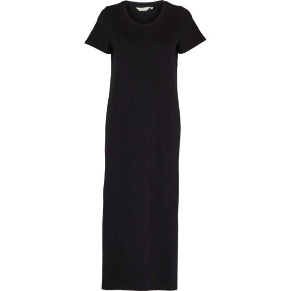 BASIC APPAREL - BLACK REBEKKA DRESS - GOTS