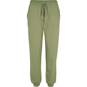 BASIC APPAREL - OIL GREEN MAJE SWEATPANTS