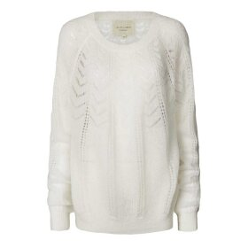 LOLLYS LAUNDRY - CREME BILLY JUMPER