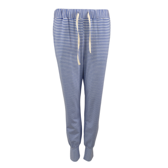 BLACK COLOUR - BLUE POLLY STRIPED JERSEY