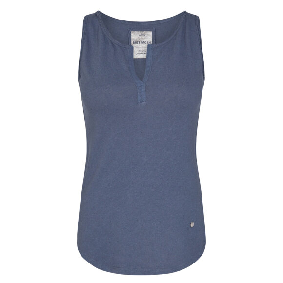 MOS MOSH - VINTAGE BLUE TROY TANK TOP