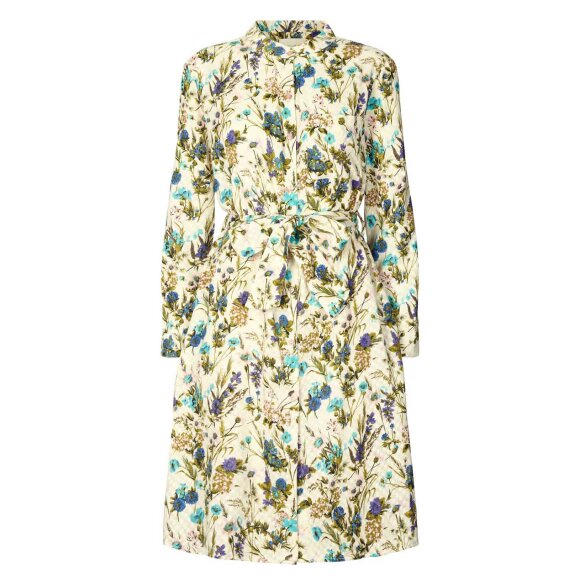 LOLLYS LAUNDRY - FLOWER PRINT FRENCH DRESS