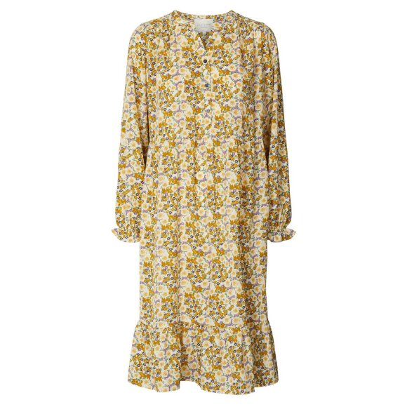 LOLLYS LAUNDRY - FLOWER PRINT AUDREY DRESS
