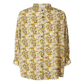 LOLLYS LAUNDRY - FLOWER PRINT RALPH SHIRT