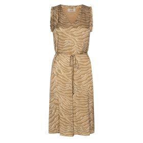 MOS MOSH - INCENSE SHEA ZEBRA SL DRESS