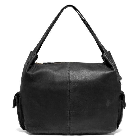 DEPECHE - BLACK LARGE BAG