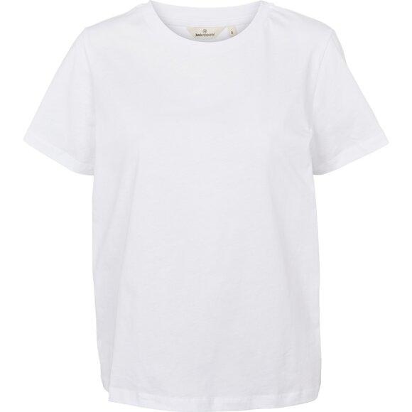 BASIC APPAREL - BRIGHT WHITE RANDI TEE
