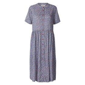 LOLLYS LAUNDRY - BLUE ALIYA DRESS