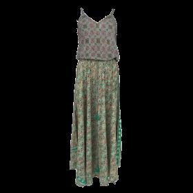 BLACK COLOUR - GARDEN GREEN ELLA STRAP DRESS