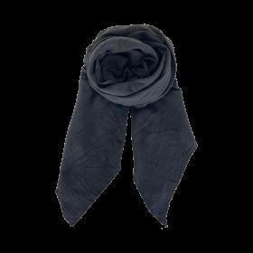 BLACK COLOUR - BLACK DUNE DOUBLE LAYER SCARF