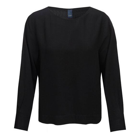 ONE TWO LUXZUZ - BLACK ALBINA BLOUSE