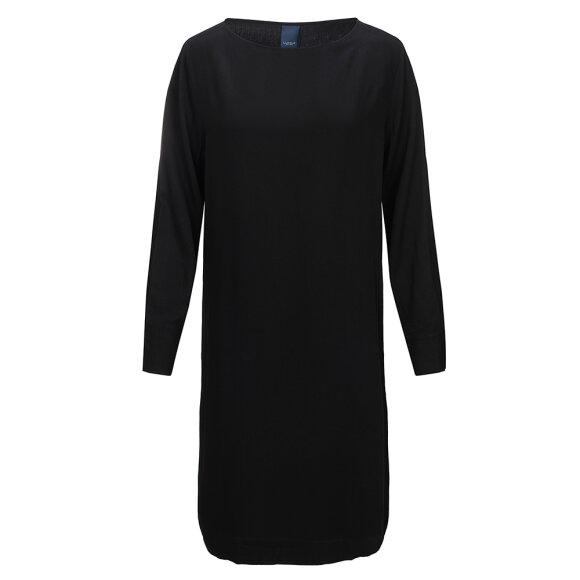 ONE TWO LUXZUZ - BLACK ANASTASIA DRESS