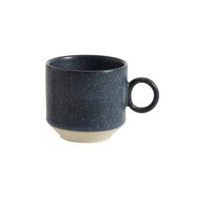 NORDAL - GRAINY ESPRESSO CUP, DARK BLUE
