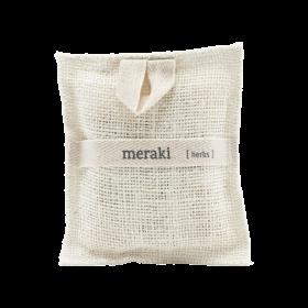 MERAKI - BATH MITT, HERBS